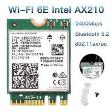 3000 Мбит/с wi fi 6e intel ax210 bluetooth 52 ngff m2 беспроводная