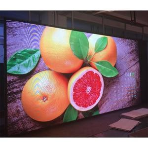 Image 1 - 64x32 LED zeichen RGB P4 led modul video wand P 2,5 P3 P4 P5 P6 P8 P10 256x128mm innen bildschirm voller farbe display