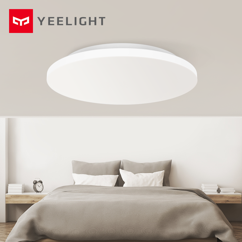 Original Xiaomi Mijia Yeelight Smart LED Ceiling Light Mijia Mi Home Smart Remote Control Jiaoyue 420 Round Ceiling Lamp 21W