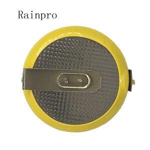Image 2 - Rainpro 2 قطعة/الوحدة CR2450 3 فولت مع لحام قدم زر بطارية ليثيوم ل جهاز طهي الأرز