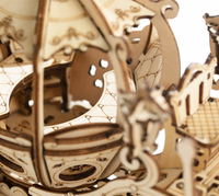 Modèle en bois à assembler 182 morceaux DIY Mobile 3D En Bois carosse de Cendrillon 8