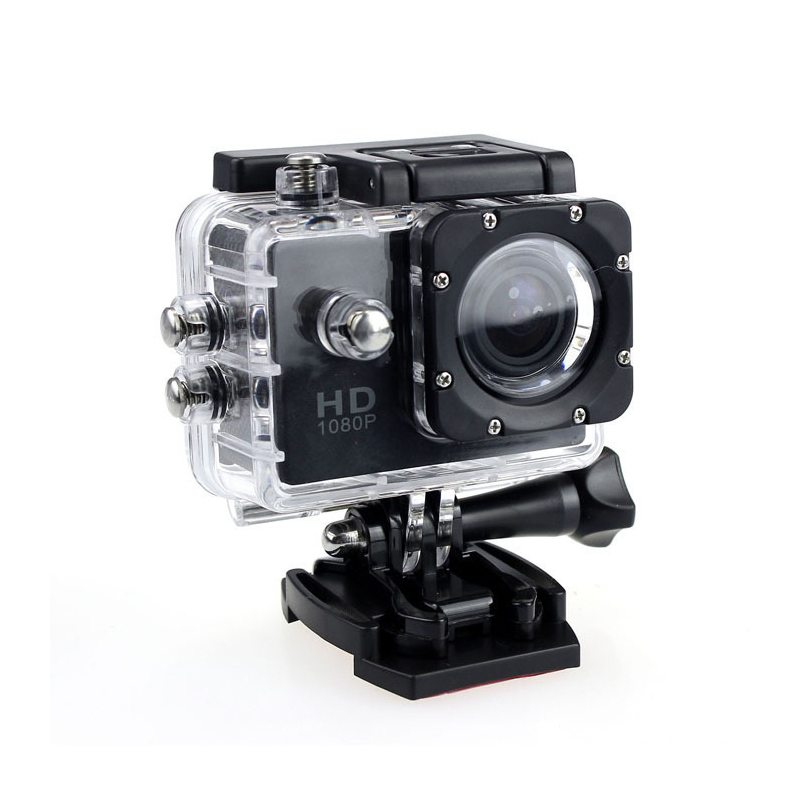 Action Camera Sport Outdoor Mini Camera Waterproof Cam Screen Underwater Camera Color Water Resistant Video Surveillance