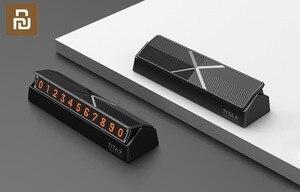 Image 3 - شاومي Titx X نوع الوجه سيارة درجة الحرارة وقوف السيارات رقم الهاتف بطاقة لوحة سيارة صغيرة الديكور ل شاومي Mi المنزل