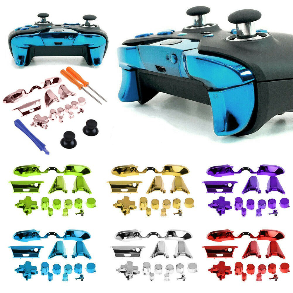 Handle Accessories Customized Replacement Bumper Trigger Button Kit for Game XBOX Elite Controller Video Game Accessories