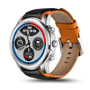 Image 2 - LEM5 GPS Men Sport Smart Watch Android 3G Bluetooth Call Heart Rate Monitor Fitness Tracker Pedometer Smartwatch Phone Watch