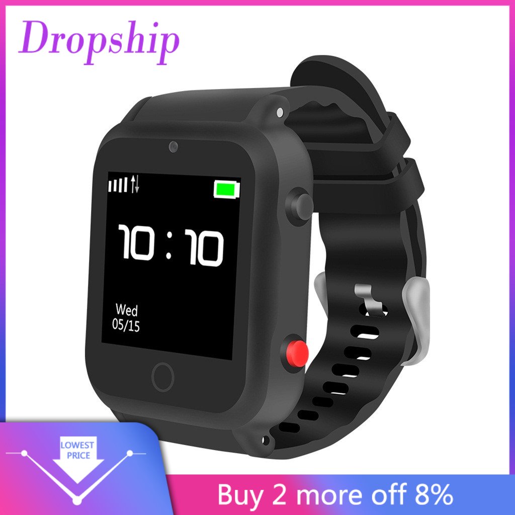 True Color Display 1.54inch HD IPS Elderly Positioning Smart Watch SIM Card Type Wristband Watch Strap fitness tracker #G20