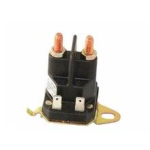 Стартер 12VDC Магнитный Переключатель электромагнитный садовая газонокосилка Запчасти для инструментов контактор легко использовать пластиковые запасные аксессуары ремонт