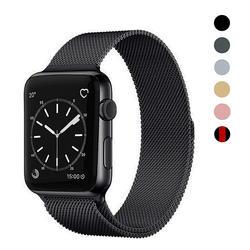 Миланский Браслет, Браслет Нержавеющаясталь ремешок для наручных часов Apple Watch серии 1/2/3, 42 мм, 38 мм, ремешок для наручных часов iwatch серии 4 40