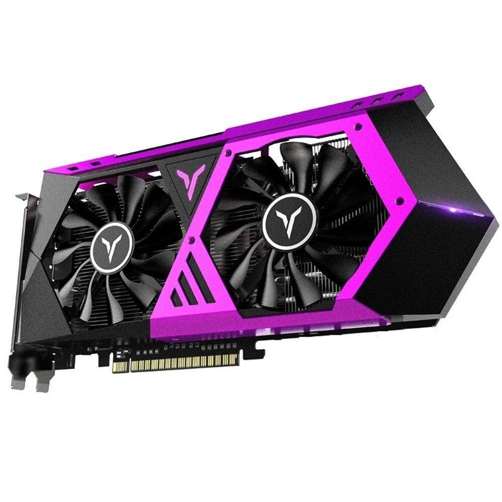 Yeston Radeon RX580 2048SP 8G OC GDDR5 256bit PCI Express X16 3.0 Video Gaming Graphics Card DVI+HDMI+3*DP For Desktop DIY Dress