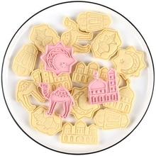 6Pcs/set EID MUBARAK Camel Moon Star Biscuit Mold Cookie Cutters DIY Ramadan Islamic Muslim Cake Baking Tools