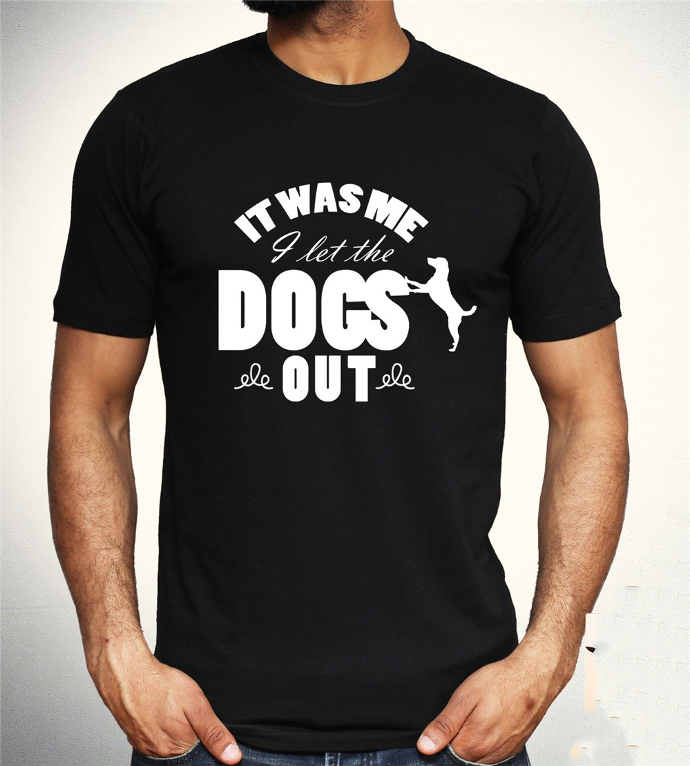 Who Let The Dogs Out T Shirt Funny Song Baha Men Slogan Joke Unisex Gift Tee Customize Tee Shirt image