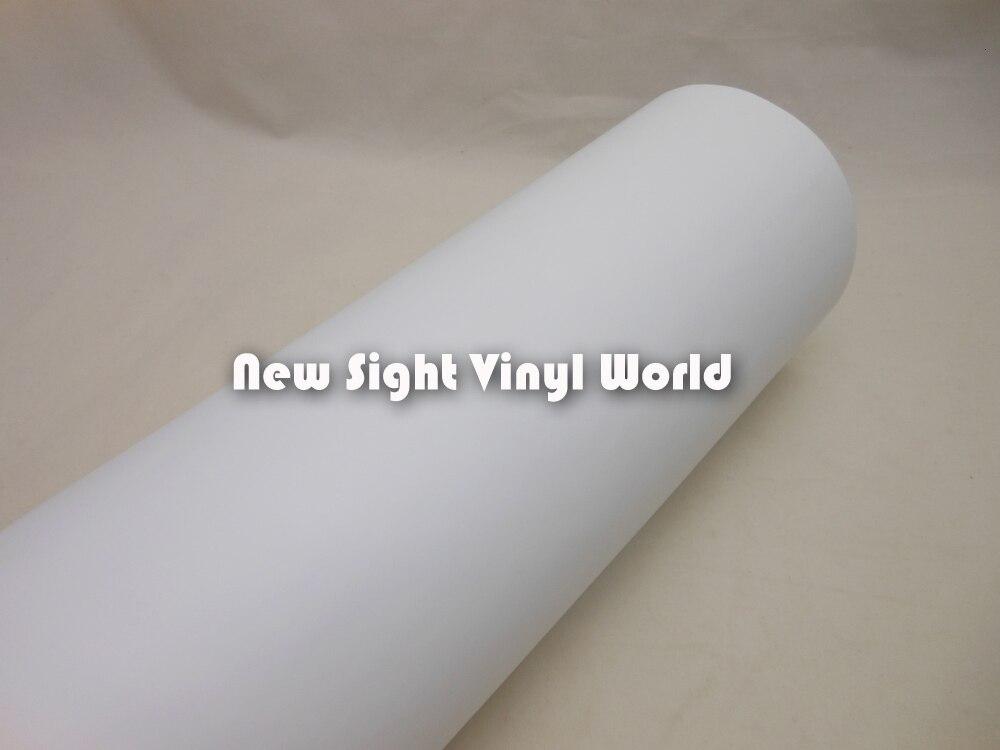 Film vinyle auto adhésif blanc imprimable pour impression numérique autocollants autocollant de voiture taille: 0.914*50 m/Roll - 4