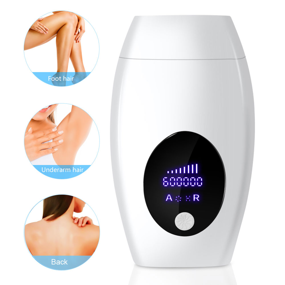 600000 flash professional permanent IPL Laser Depilator LCD laser hair removal Photoepilator women painless hair remover machine title=