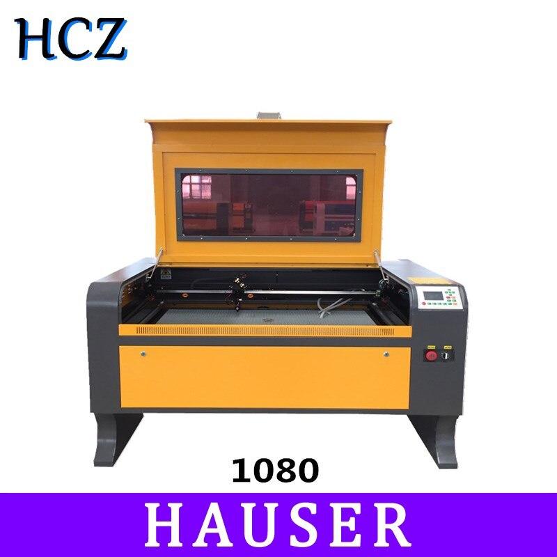 Freeshipping 1080 100w ruida Co2 laser engraving machine CNC laser engraver, DIY laser marking machine, carving machine
