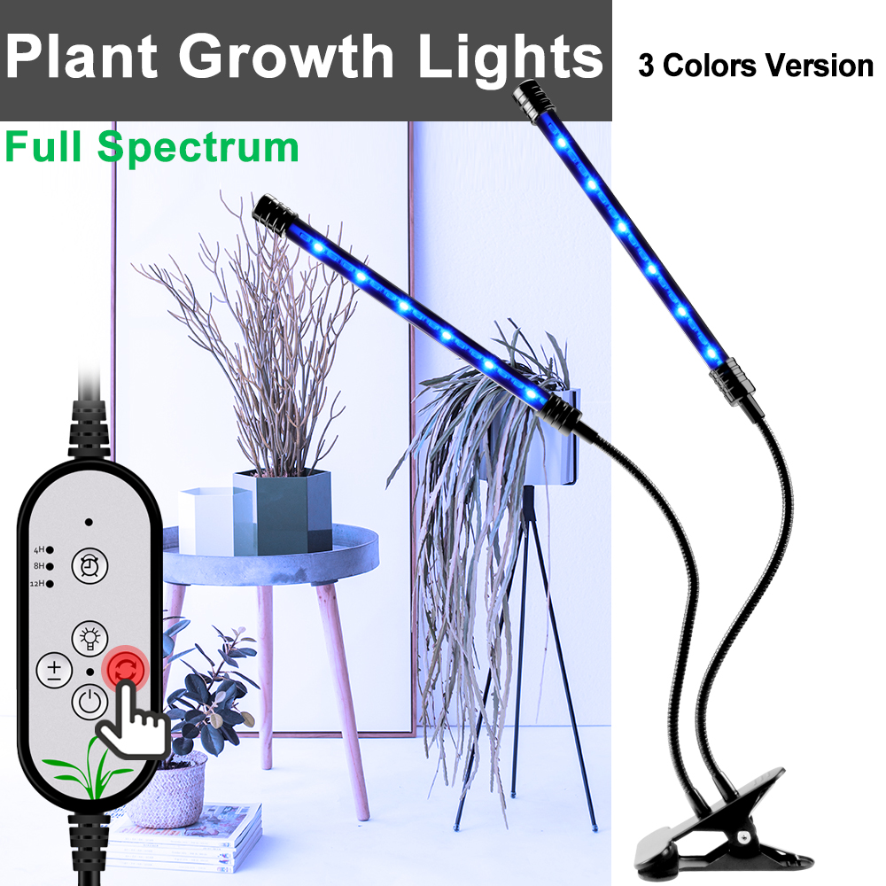 Growth Light USB Full Spectrum LED Lamp For Plants Hydroponic Grow DC5V Greenhouse Flexible Clip Phyto Waterproof
