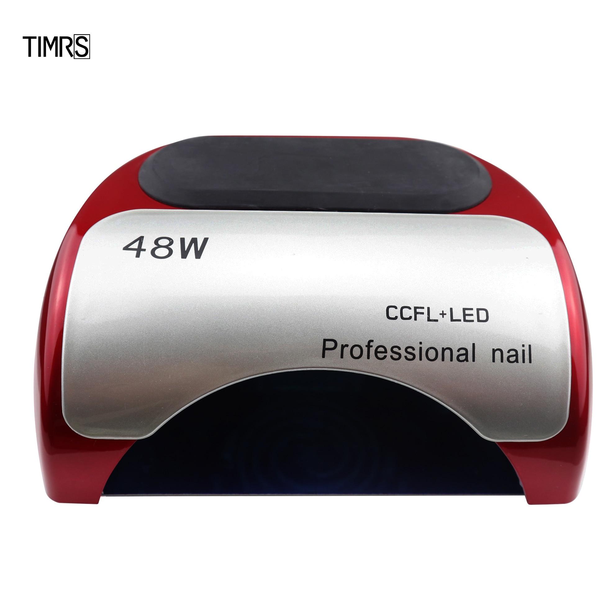 48W CCFL Led Lamp For Manicure Nails Dryer Nail Lamp Ice Lamp Hybrid Gel Curing UV Light For Gel Nails Regular Polish Dryer
