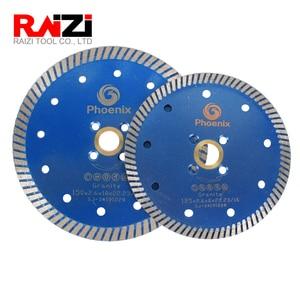Raizi 1 Pc Granite Turbo Cutting Disc 125/250 mm Abasive Diamond Saw Blade Granite Cutting Blade Tool(China)