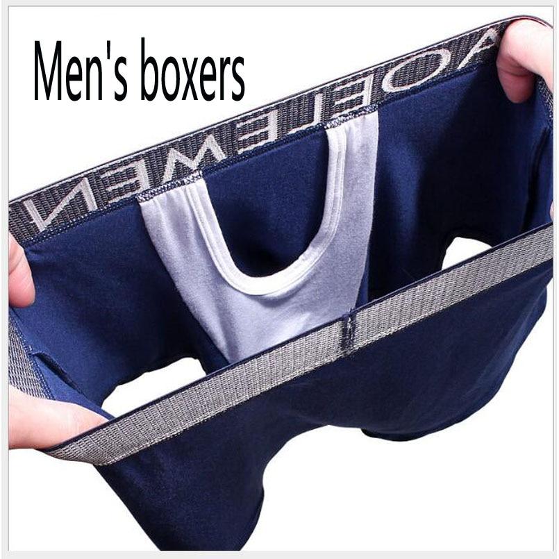 Boxers, men's underwear,cueca masculina трусы мужские мужские трусы