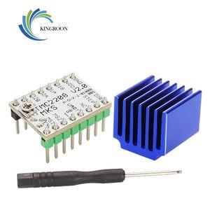 4Pcs Super Silent TMC2208 V2.0 Stepper Motor Driver Module Heat Sink For 3D Printer Mainboard Aim VS TMC2100 add 1Pc Screwdriver