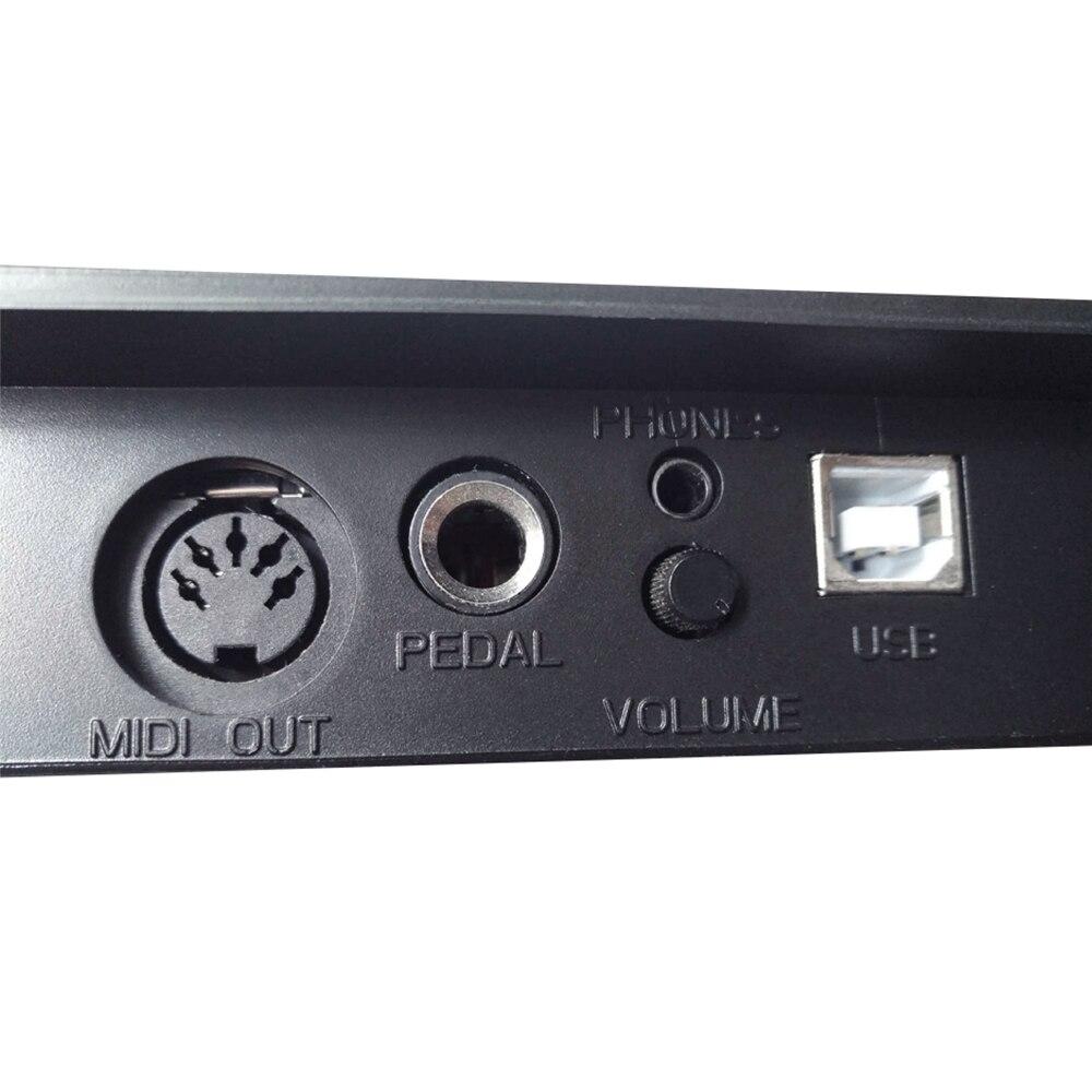 Contrôleur de clavier MIDI WORLDE USB Ultra-Portable à 49 touches avec prise à pédale 6.35mm - 5