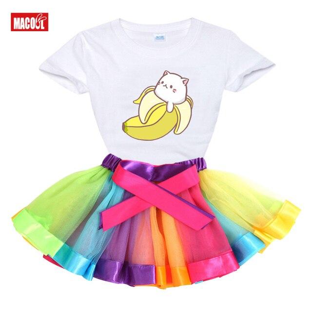 Фото летнее платье пачка для девочек вечерние чная одежда маленьких