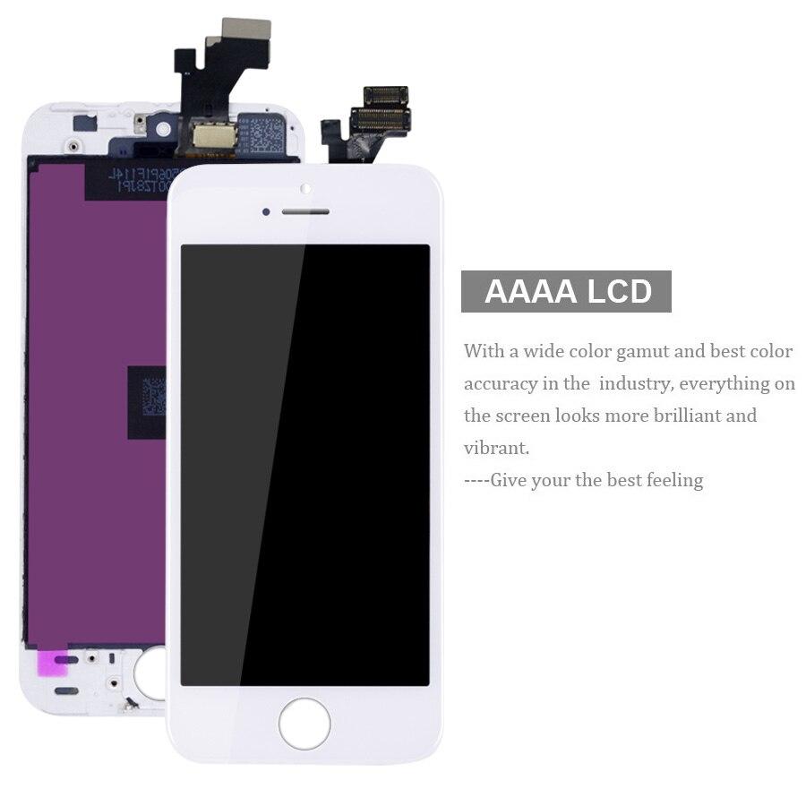 מסכי LCD HORUG 100% מסך LCD AAAA המקורי עבור מסכי מגע Digitizer תצוגת LCD iPhone 4S 4 מסך LCDS החלפת iPhone 4 4S (2)