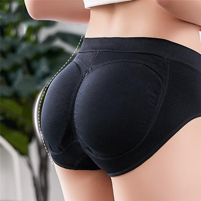 Sexy Padded Panties Seamless Bottom Panties Buttocks Push Up Lingerie Women's Underwear Good Quality Butt Lift Briefs