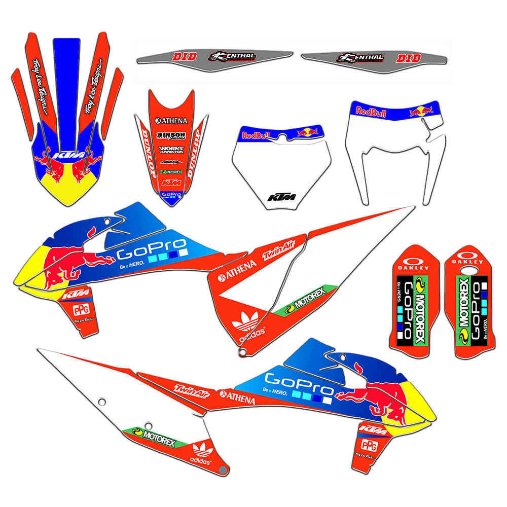 MXGRAPHIC Full Set Graphic Decals Stickers DECO For KTM EXC 125 200 250 300 350 450 2020 SX SXF XC XCF 2019-2020