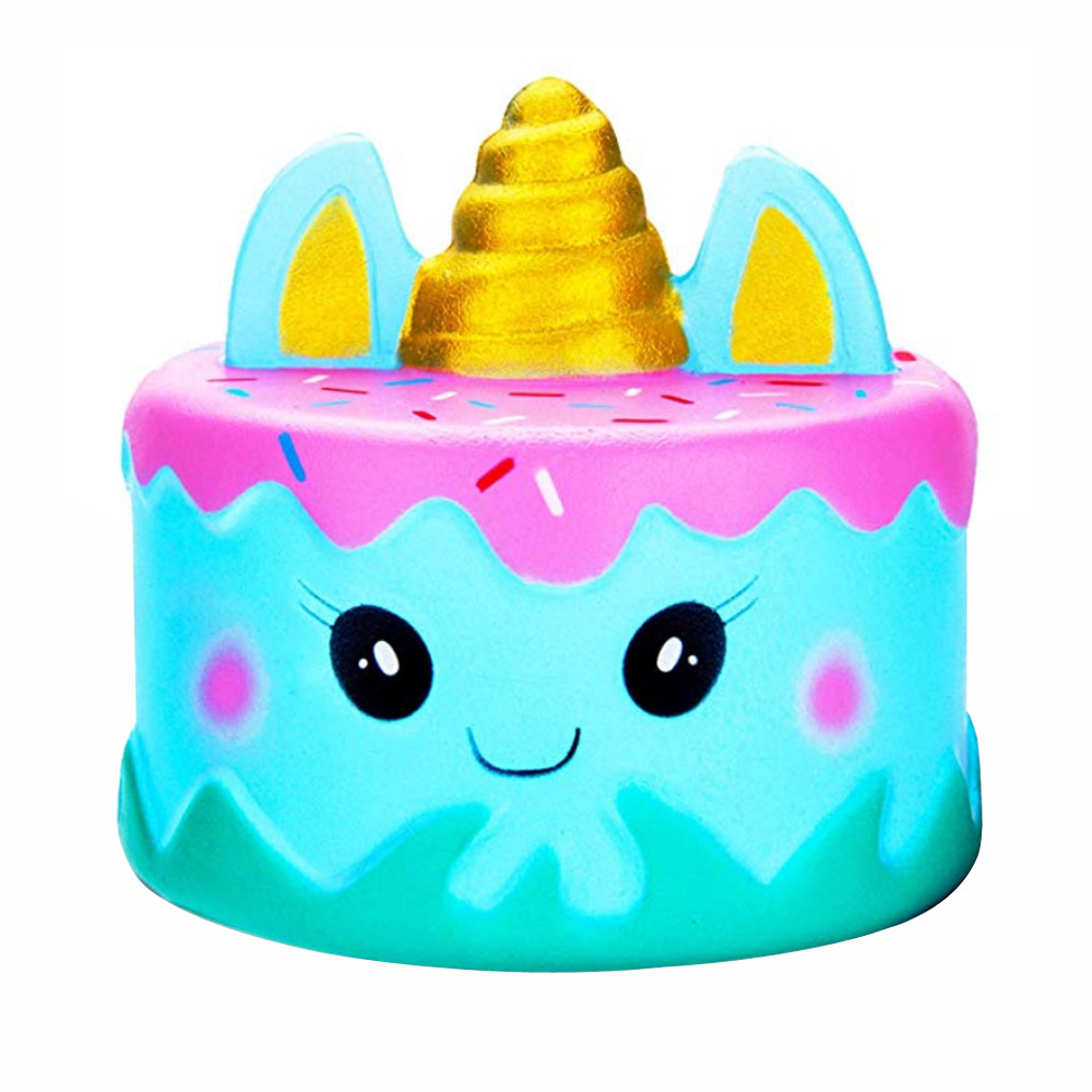 Squishy Toy  Jumbo Kawaii Cartoon Cake Squishy Slow Rising Cream Scented Stress Reliever Toy Anti Stress Stress Reliever