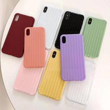 3D Striped Candy Color Case for Xiaomi 8