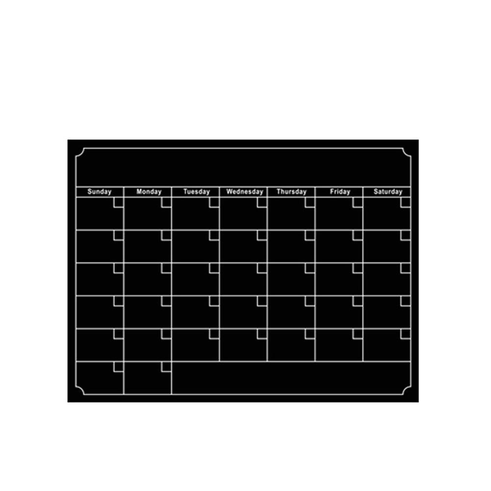 40*30cm Black Waterproof Drawing Magnetic Board Cooler Refrigerator Magnet Notepad R20