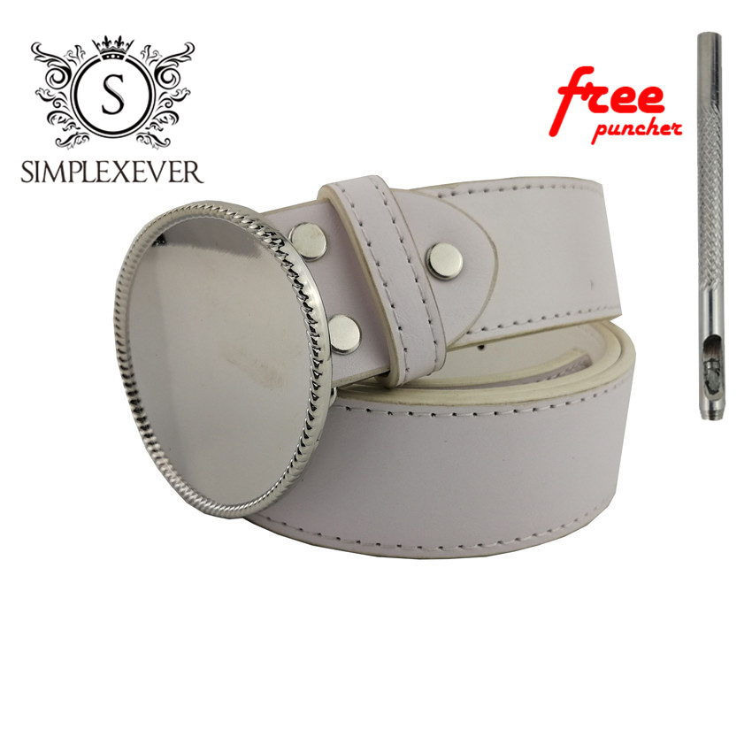 Oval Belt Buckle Accessories For Women DIY Metal Belt Buckle Suit For 3.8-4cm Belt Jeans Accessories Dropshipping