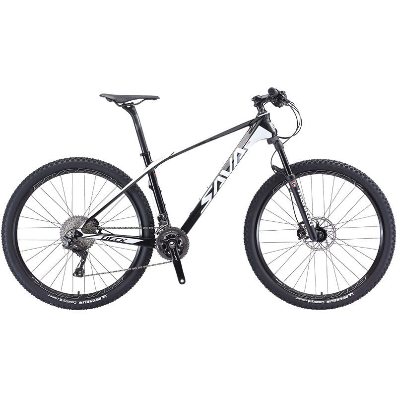 SAVA Mountain Bike 29 Mtb 29 Inch Carbon Mountain Bike Mtb 29 Mountain Bicycle With SHIMANO DEORE XT M8000 Mtb Vtt Homme 27.5/29