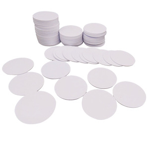 Image 4 - (100PCS/LOT) 13.56Mhz NFC 25MM Sticker Adhesive Coin Cards Tags Ntag213 (Compatible 203 ) PVC Waterproof For All NFC Phones