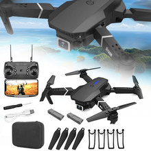 E88 Pro Profissional Drone 4k Gps With Camera Foldable Mini Drone Dual-Camera Wide-Angle Drone RC Remote Quadcopter Aircrafts