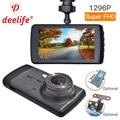 Видеорегистратор DVR Deelife Full HD 1296P, черный видеорегистратор DVR с двумя камерами, автоматическое переключение с 1296P на 1080P при записи с двух каме...