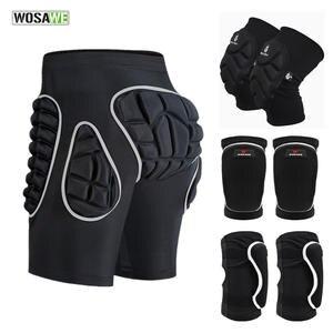 WOSAWE Shorts Skateboard Hockey-Skating-Butt-Protector EVA Thicken