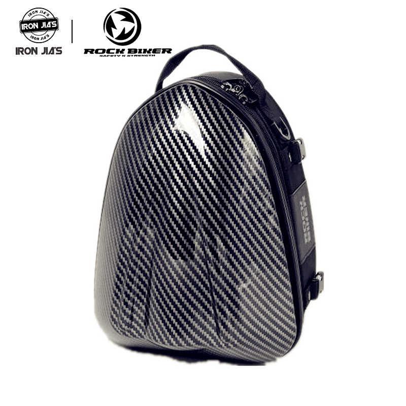 Rock Biker Sepeda Motor Rider Tas Tangki Minyak Tahan Air Sepeda Motor Naik Tur Bagasi Motocross Ransel Tas Sadel
