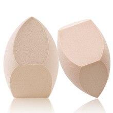 1 pçs tamanho grande maquiagem fundação esponja maquiagem cosméticos puff em pó suave beleza cosméticos compõem esponja sopro