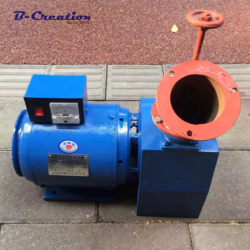 1000w 2000w 3000w 4000w 5000w 110 220V Hydroelectric generator Single phase generator Low Speed Start permanent magnet generator