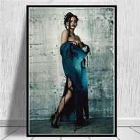 Hot Rihanna Pop Star Music Singer Superstar Hip Hop USA Art Painting Poster And Prints Wall Pictures For Living Room Home Decor