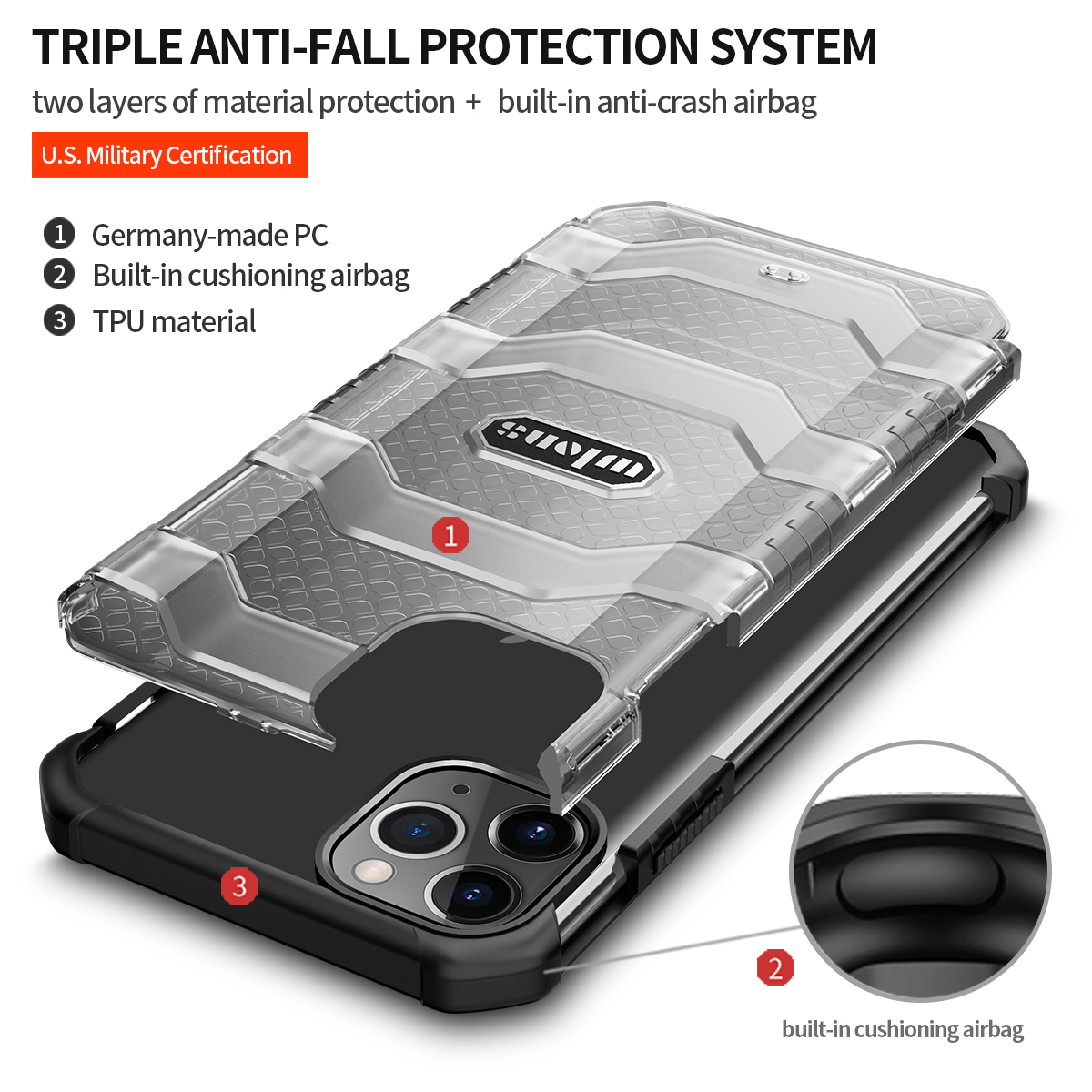 Tough Case for iPhone 12 Pro Max