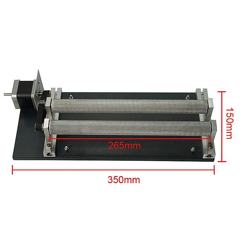 Blättern 4th achse drehachse dreh jig drehachse gravur zylinder für Laser gravur maschine