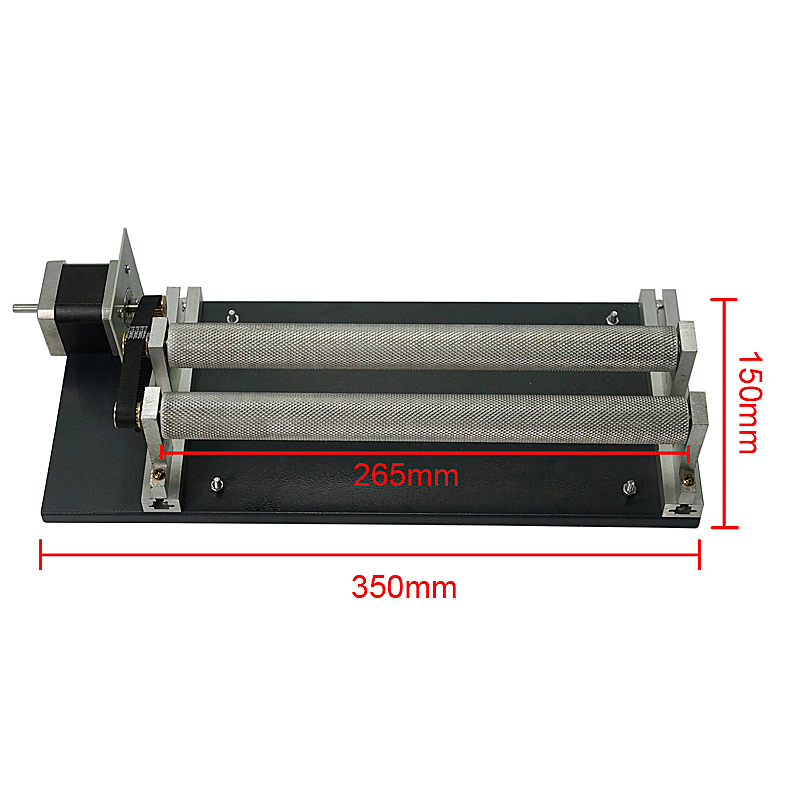 Scroll 4th Axis Rotary Axis Rotary Jig Rotary Axis Engraving Cylinder For Laser Engraving Machine