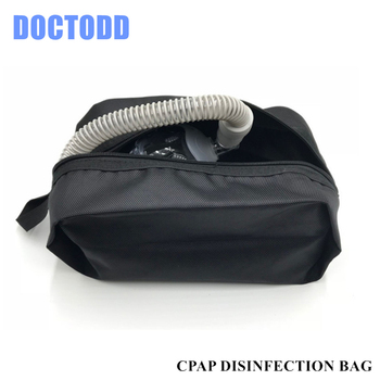 CPAP torba dezynfekcyjna Respirator nosowa czapka kominiarka wąż do sterylizacji czyszczenie tanie i dobre opinie DOCTODD CPAP disinfection bag 37*15cm medical materials all models and brands of CPAP mask and tubing in the market disinfection bag for CPAP mask and tubing