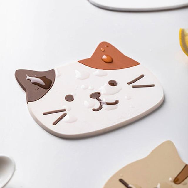 Cat Coffee Coaster 1