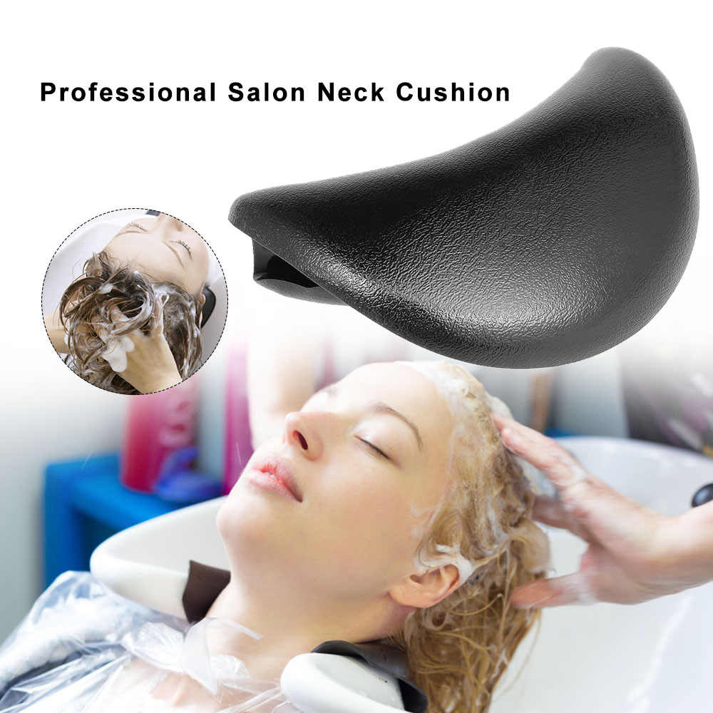 SOONHUA Hair Spa Neck Rest Pillow Salon Shampoo Bowl Silicone Neck Rest Cushion