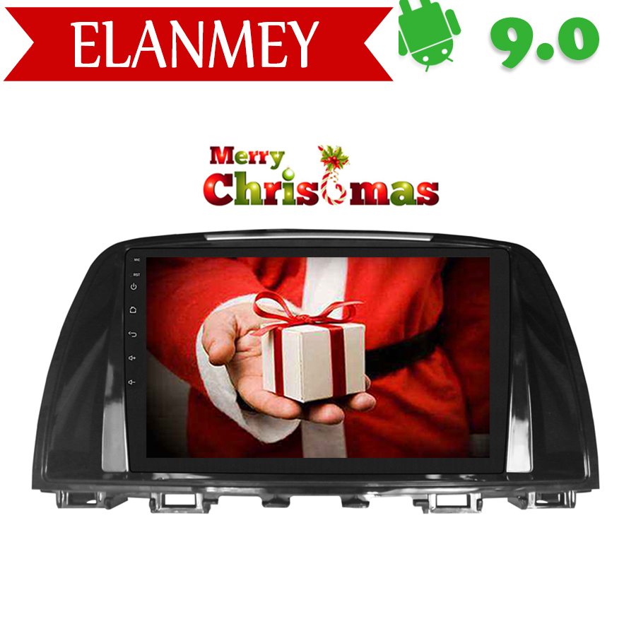 Branded Genuine <font><b>Android</b></font> 9.0 Car Radio for <font><b>MAZDA</b></font> <font><b>6</b></font> 2014-2016 car gps navigation Car <font><b>Multimedia</b></font> Vehicle recorder Christmas gif image