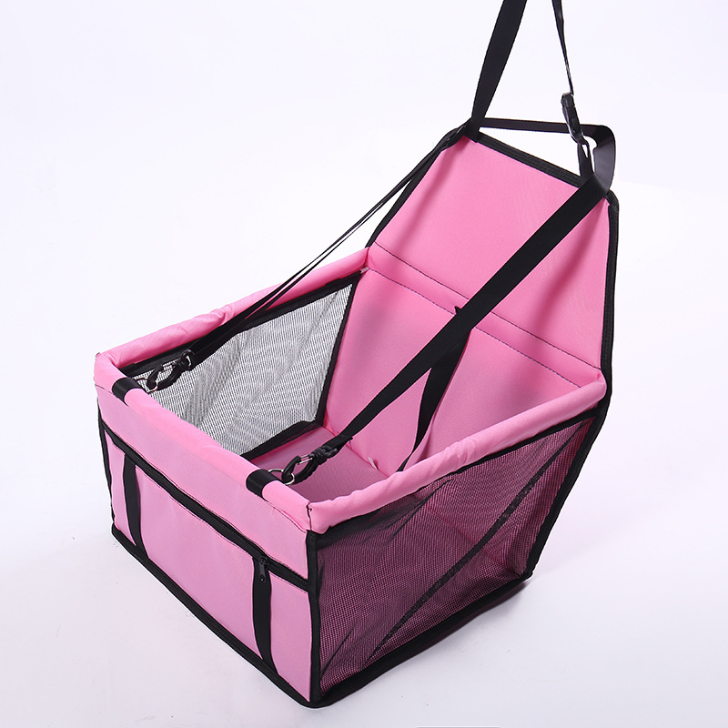 CAWAYI KENNEL Travel Dog Car Seat Cover Folding Hammock Pet Carriers Bag Carrying For Dogs transportin perro autostoel D1224