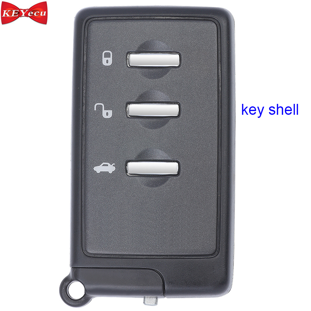 KEYECU for Subaru Forester Impreza Legacy Outback Tribeca XV Remote Key Shell Case Fob 14ACR-01